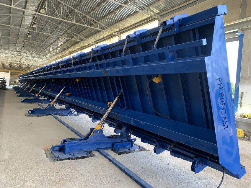 Mesa Basculante para Paneles Prefabricados de Hormigón