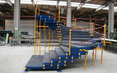 Molde de escaleras prefabricadas de hormigón
