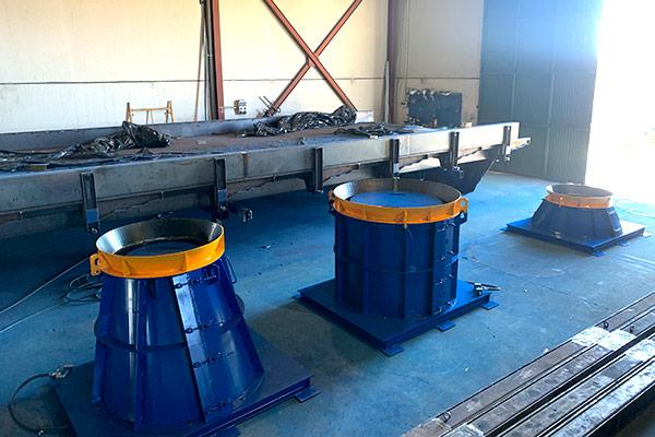 Molde para arqueta de hormigón prefabricado